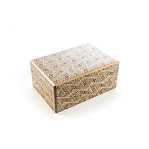 Kubiya Games | Japanese Puzzle Box – 21 Steps 4 Sun Kirichigae, Puzzle Box for Adult, Secret Puzzle Box, Wood Puzzle Box…