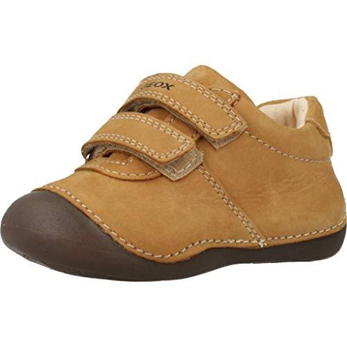 Geox B Tutim a First Walker schoen voor babys, Koekje, 36 EU
