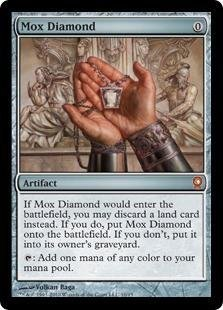 Magic: the Gathering - MOX Diamond - from The Vault: Relics - Foil