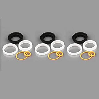 Red Pack of 50 234 Silicone O-Ring 70A Durometer