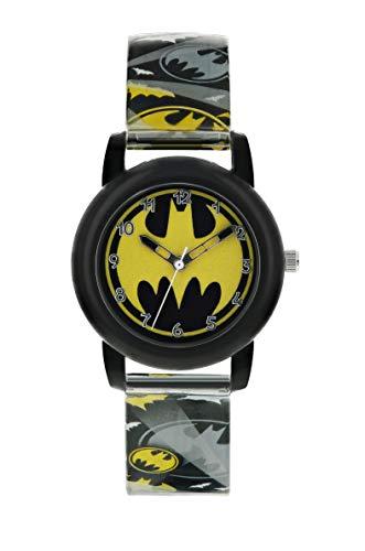 Disney Unisex Child Analogue Classic Quartz Watch with Plastic Strap...