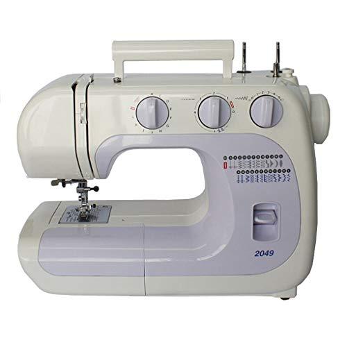 ZHongWei-- Máquina de Coser, Máquina de Coser Multifuncional, hogar de Escritorio Máquina de Coser, Máquina de Coser eléctrica, 25 Tipos de Puntadas (Size : 40.7x27.7x15.5cm)