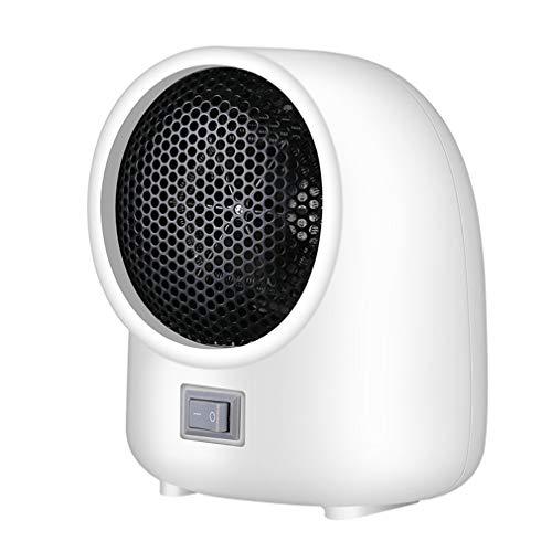 WEQQ Mini Calentador Calentador eléctrico doméstico Calentador de calefacción Calentador portátil N4 (whiteEU)