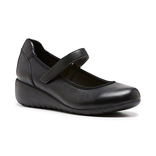 Hush Puppies Women's Duran Court Shoes Black 13 US