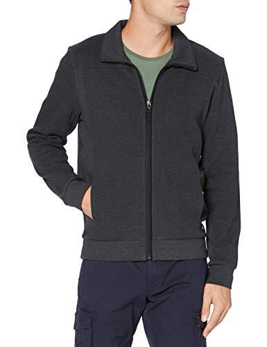 Pierre Cardin Herren Sweatjacke Structure Sweatshirt, Anthra, XL