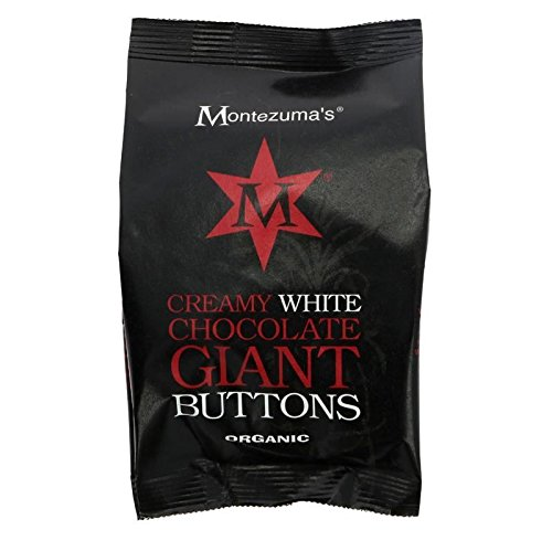 Organic Creamy White Chocolate Giant Buttons 180g