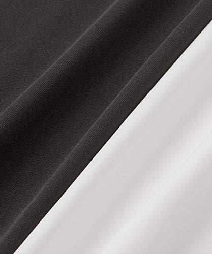 [nissen(ニッセン)]肌着・インナー背中見せレースブラトップキャミソール黒L