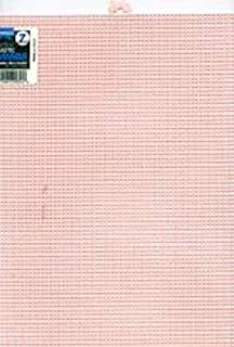 12 Pieces 7 Count Pink Plastic Canvas Sheets