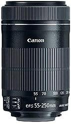 Canon EF-S 55-250mm f4-5.6 IS STM Objektiv für Spiegelreflexkameras von Canon