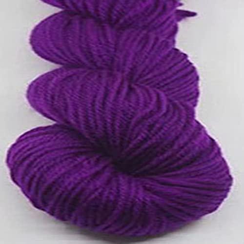 Zoomlie 4 rollos de hilo de ganchillo para ganchillo de 4 x 48 g, suave y lujoso, transpirable, 100%...