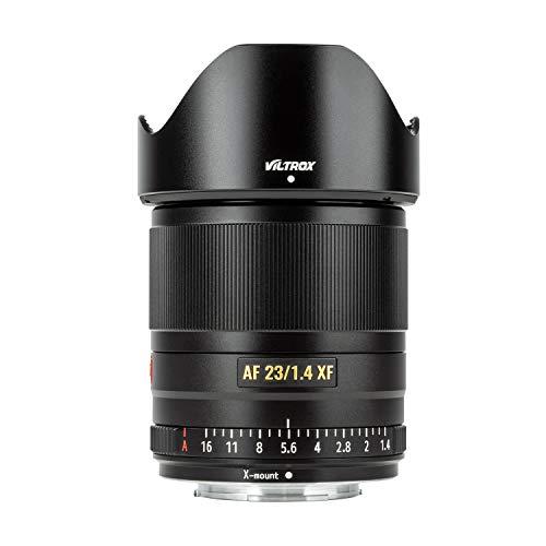 VILTROX 23mm F1.4 XF Lens for Fujifilm X-Mount Camera X-H1 X-A5 X-A7 X-2S X-E3 X-T3 X-T2 X-T30 X-T20 X-T200 X-Pro1 X-PRO2