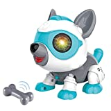 FoMass Toys for 3-5 Year Old Kids, Robot Dog Gifts for Boys Girls Interactive Puppy Voice Control...