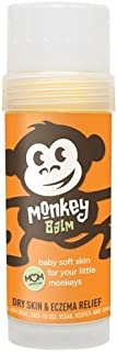Monkey Balm All Natural Skin Care for Kids, Babies, and Adults   Helps Heal Eczema, Psoriasis, Dry and Cracked Skin, Bug Bites, Rashes, and Sunburns (2oz)