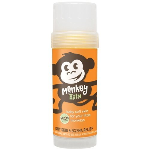 Monkey Balm All Natural Skin Care for Kids Babies and Adults | Helps Heal Eczema Psoriasis Dry and Cracked Skin Bug Bites Rashes and Sunburns 2 Ounce Pack of 1