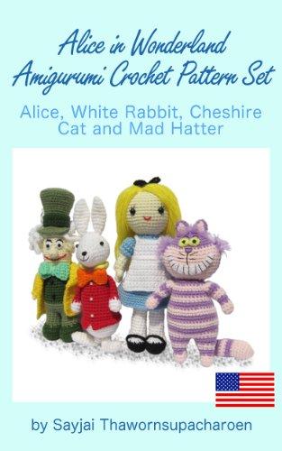 Amigurumi White Rabbit Alice in Wonderland Kawaii: Amazon.co.uk ...   500x313