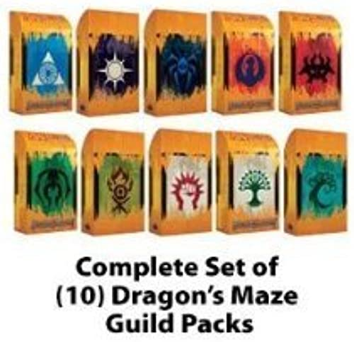 tienda de venta Magic Magic Magic the Gathering  Dragon's Maze Guild Pack Set of 10 MTG DGM by Magic  the Gathering  alto descuento
