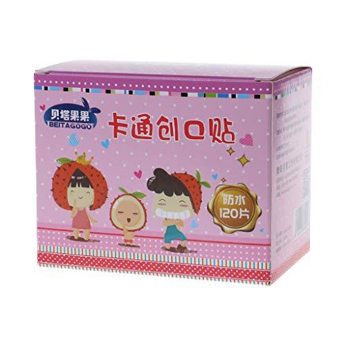 Tubicu 1 boîte de Bandage de Bande dessinée étanche pour plaie Adhésif Bandages Adhésifs Mignon Anti-poussière Respirant Premiers Soins médicaux pour Enfants
