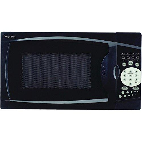 Magic Chef MCM770B Countertop Microwave .7 Cu ft 700W Black W/Digital Touch - ONE YEAR Warranty