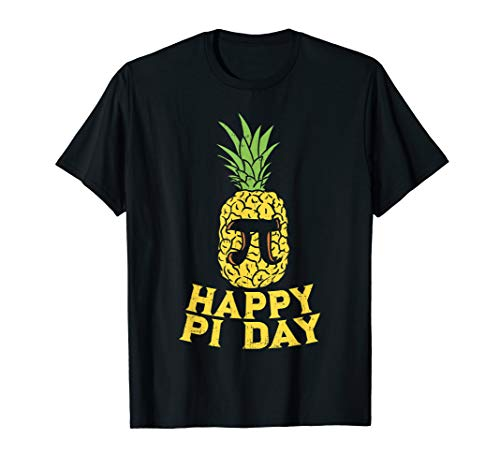Happy Pi Day Pineapple Shirt Funny Math Student Gift Fruit T-Shirt