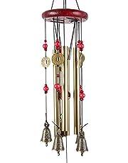XCSSKG Campanas de viento de metal para decoración del hogar y jardín