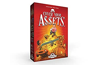 Grandpa Beck's Cover Your Assets Card Game   Fun Family-Friendly Set-Collecting Game   Enjoyed by Kids, Teens, and Adults   From the Creators of Skull King   Ideal for 4-6 Players Ages 7+ by Grandpa Beck's Games