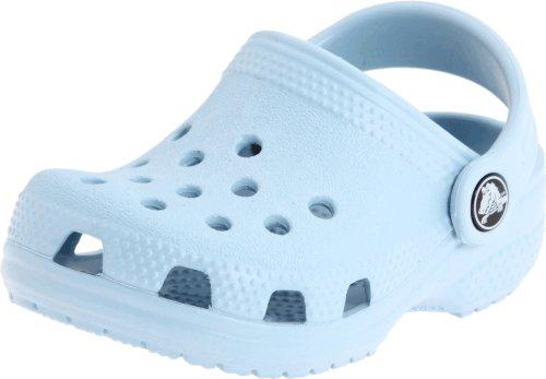Crocs Classic LITTLES - Zuecos para niños, color azul (blau (bleu ciel), talla 17-19