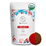 TeaTreasure South African Rooibos Red Tea - 100 gm - Caffeine Free Antioxidants
