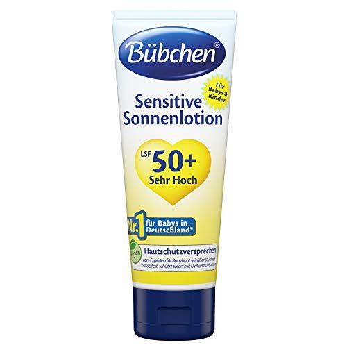 BÜBCHEN Sensitive Sonnenlotion 100 ml LSF 50 Baby-Pflege