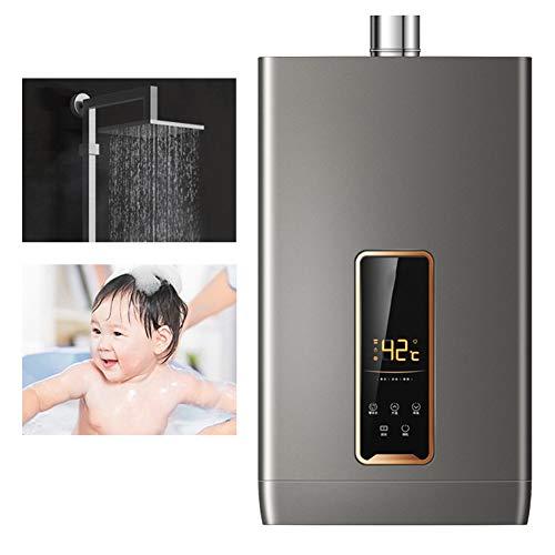 Stoge 16L 30KW NG Instant-Erdgas-Warmwasserbereiter Tankless Wand-Warmwasserkessel LCD-Display Touch-Bedienung for Baby-Frauendusche