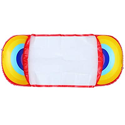 BESPORTBLE Swimming Pool Float Hammock, 49.6 x 28.7 Inch Inflatable Swimming Pools Lounger - Portable Backrest Float Raft for Adults - Summer Swimming Party Accessories