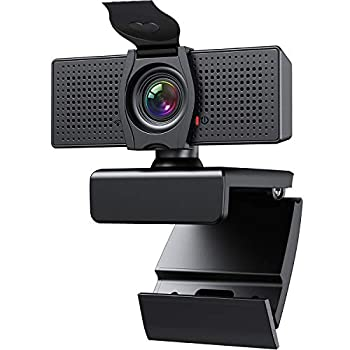 Webcam with Microphone Webcams Privacy Cover hd 1080p for Gaming conferencing Meeting Laptop Desktop Zoom USB Computer Camera for Mac pc Free-Driver Plug & Play