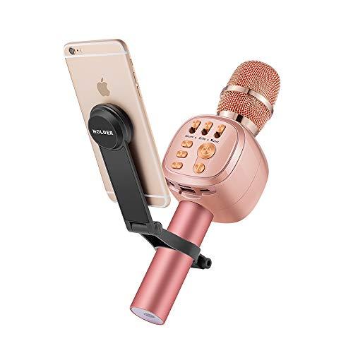 Beschoi Micrófono Inalámbrico Karaoke Bluetooth