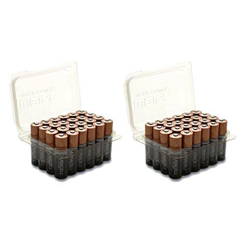 Vorteilspack 48x DURACELL Plus Power Batterie AA/Mignon Batterien in Weiss - More Power + Blisterbox
