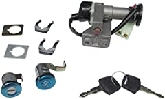 This is a brand new Ignition Switch Seat Lock Gas Cover Key Set This ignition fits most Chinese Scooters/Mopeds, ATVs, GO-Karts and Motorcycles with the 4-Wire Ingition configuration Enhance performance, direct replacement, easy installation, high re...