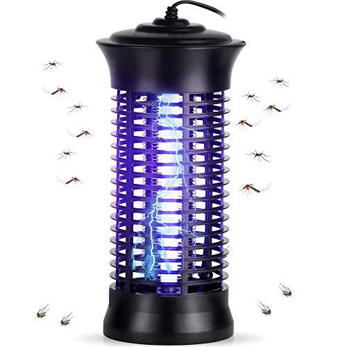 CANMIYOU Lámpara antimosquitos eléctrica de 6 W, UV, no tóxica, sin radiación, mata mosquitos para exterior e interior, dormitorio, cocina, jardín, camping (C)