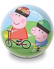 Mondo PVC Balls 23cm Peppa Pig on a Bike 06971