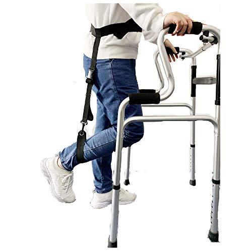 WANGXIAOLINshouzhang Oberschenkel Lifter Bein-Bügel Lifting Beine Fuß nach oben Knöchel Ring Aufzug Füßen Straps Verstellbarer Gürtel Fuß Lifters Mobilitätshilfen mit Krücken Assistenten Walking for ä