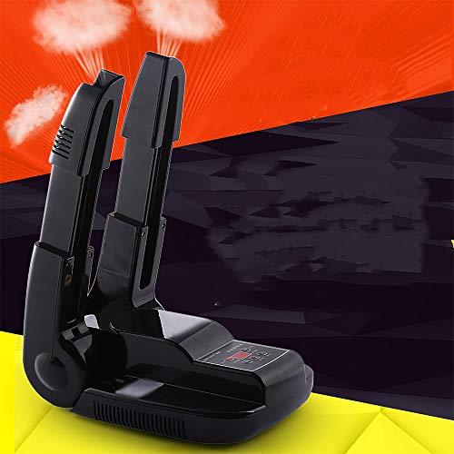 Schuhtrockner Schuhtrockner, SUNASQ Stiefeltrockner Elektrischer Fußwärmer mit Timer-Schuh, Handschuhwärmer Klappbarer skalierbarer elektrischer Schuhtrockner und Ozon-Deodorant & digitale Steuerung.