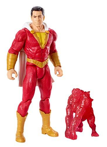 DC Shazam, Figura de Acción Shazam 15 cm, Juguetes Niños +4 años (Mattel GCW41)