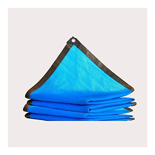 KUAIE Toldo Toldo Malla Sombreo Aislamiento Engrosamiento del Cifrado Se Utiliza para Flores, Plantas, Balcones, Casas De Cristal. Tela para Sombra Azul Varios Tamaños (Color : Blue, Size : 3×10m)