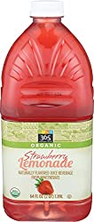 365 Everyday Value, Organic Naturally Flavored Juice Beverage from Concentrate, Strawberry Lemonade,