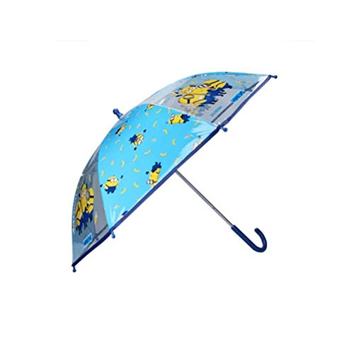 Children's Minions Party Blue Umbrella