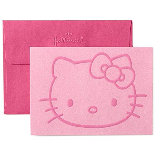 Hallmark Hello Kitty Blank Cards (10 Cards with Envelopes)