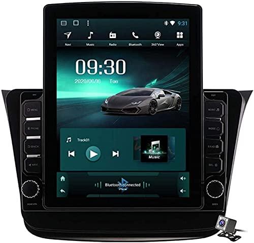 LYHY Android 9.1 Browser per Auto GPS da 9,7 Pollici con Schermo Verticale per Suzuki Wagon R 2019-2020 - Autoradio FM, connessione Internet, Supporto DSP/Chiamata in Vivavoce