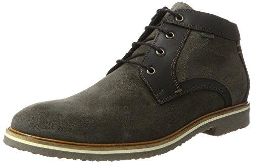 LLOYD Herren Valentin Gore-Tex Desert Boots, Grau (Lava/Schwarz), 44.5 EU