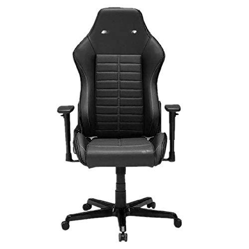 NgMik Gaming Chair Start Liegen Computer Stuhl Gaming Chair Bürostuhl komfortablem Stuhl Bürostuhl Ergonomischer Bürostuhl (Color : Black, Size