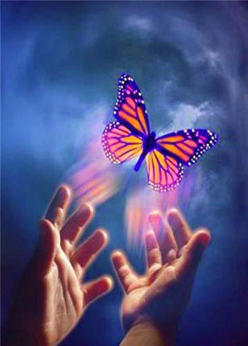 QRKJ Rompecabezas para Adultos Rompecabezas de 5000 Piezas Mariposas de Colores Rompecabezas Divertido y difícil para Adultos Decoración Familiar Juegos de Rompecabezas