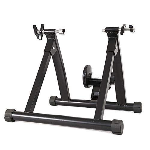 Rodillo Magnético Acero for bicicleta cubierta Ejercicio Trainer soporte de la bici Trainer Soporte El soporte plegable de bicicleta estática rueda 24-27,5