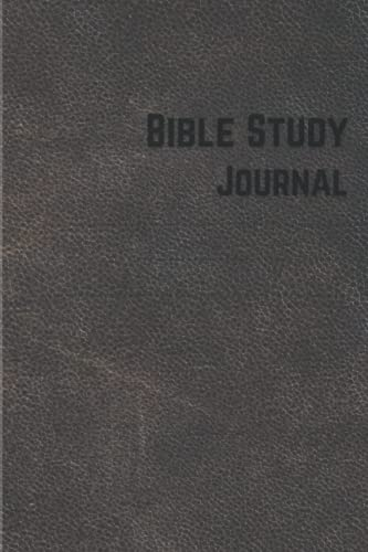 Bible Study Journal: Verse by Verse