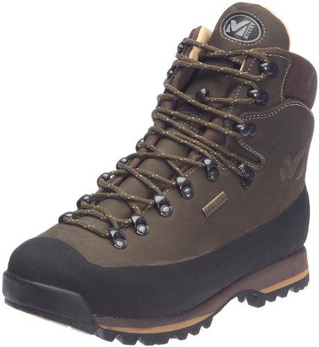 Millet - Bouthan Gtx - Chaussures de Randonnée et Trekking Hautes - Mixte - Membrane Gore-Tex Imperméable - Semelle Vibram - Kaki (2183 Almond/Vt Amande) - 40 EU